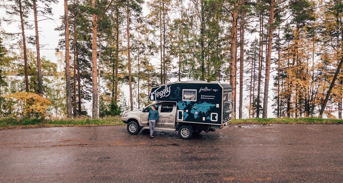 Tinggly Blogger Van