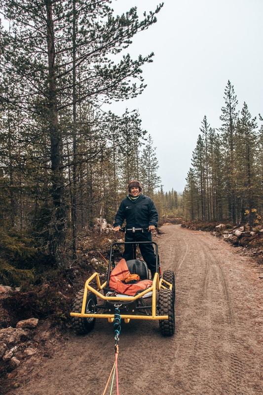 husky cart