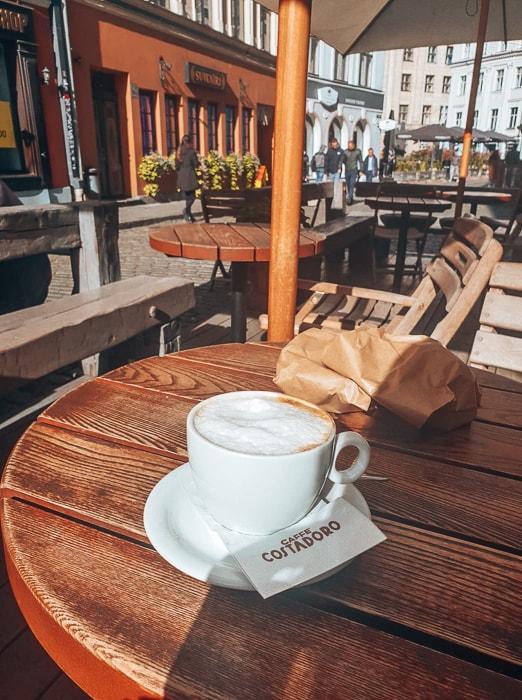 coffee in riga