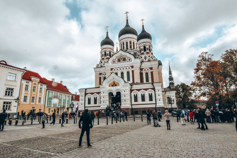 cathederal in tallinn