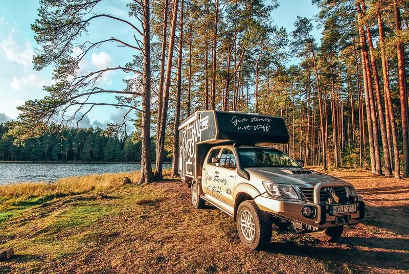 tinggly campervan