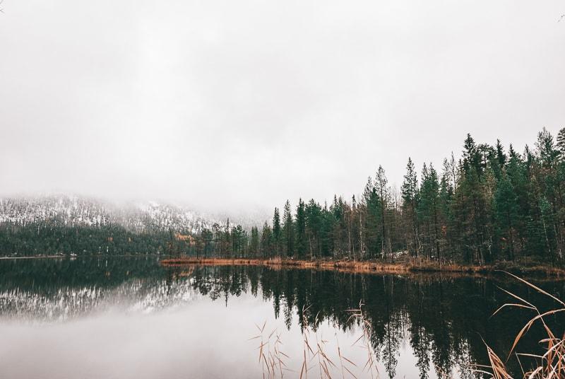 finland lake views