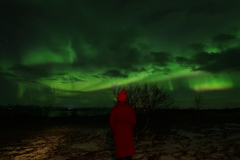 nrothern lights finland