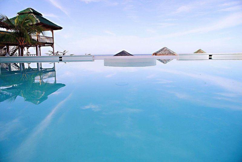 pool at Siquijor Eastern Garan Seaview Resort
