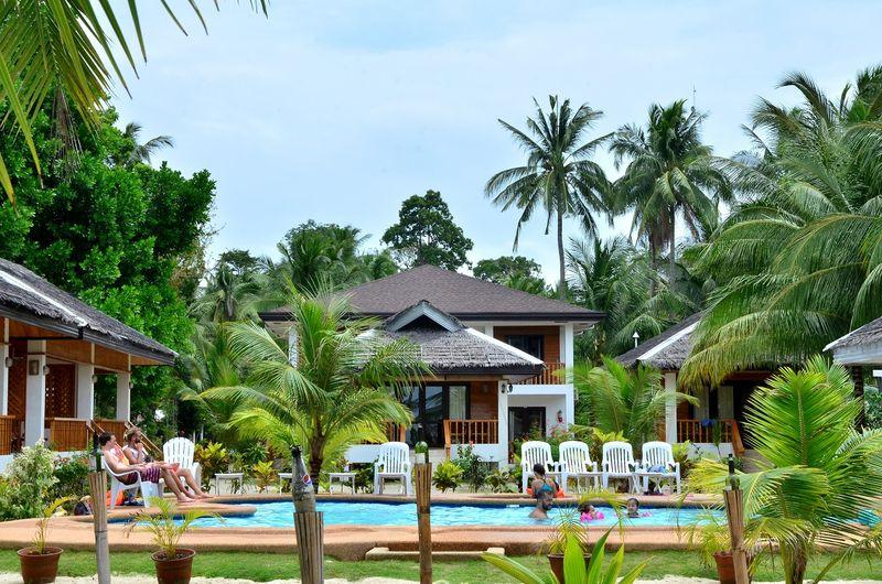 white villas resort in Siquijor