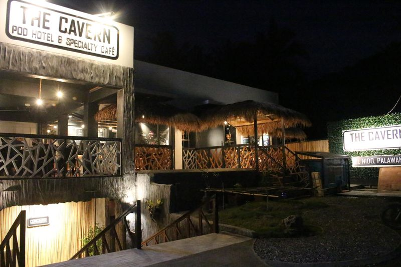 Cavern Pod Hotel El Nido Accommodation
