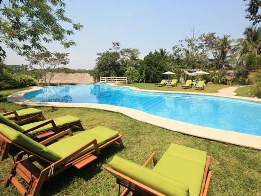 pool at Hotel La Aldea Del Halach Huinic