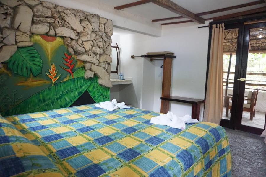room at Hotel Cabañas Safari, Palenque