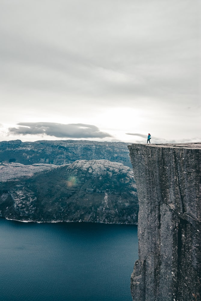 iconic view from pulpit rock