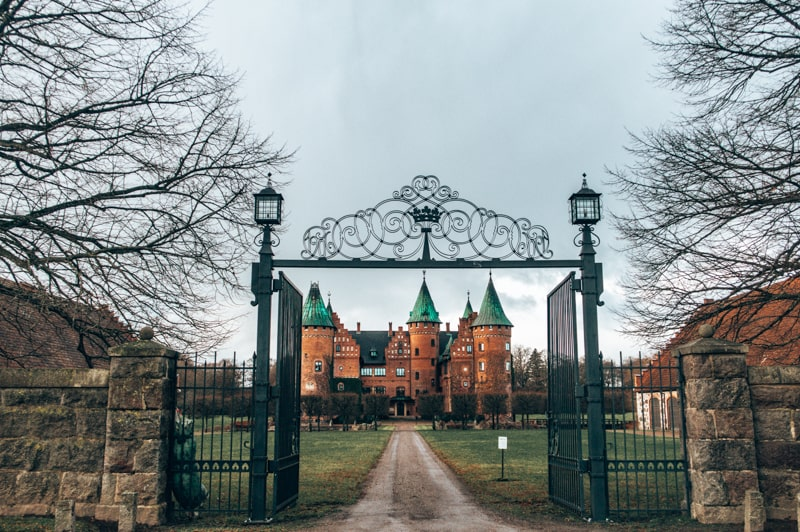 beautiful castles in sweden