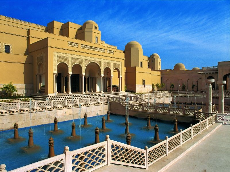 The Oberoi Amarvilas hotel in Agra