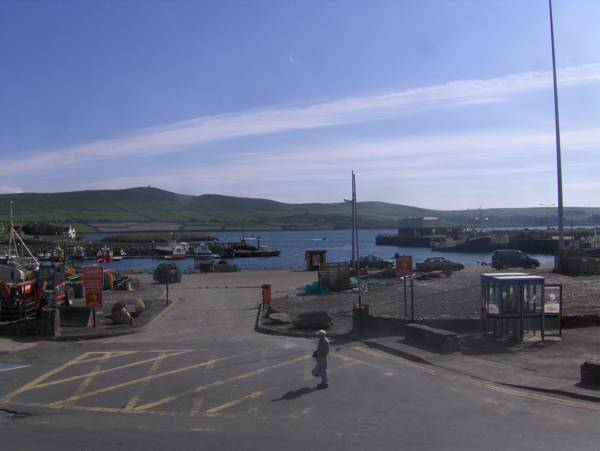 View from Quayside B&B in Kerry