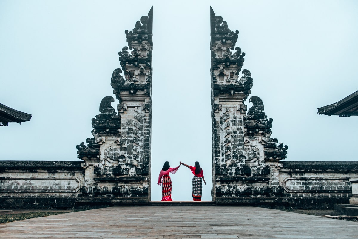 bali gates of heaven