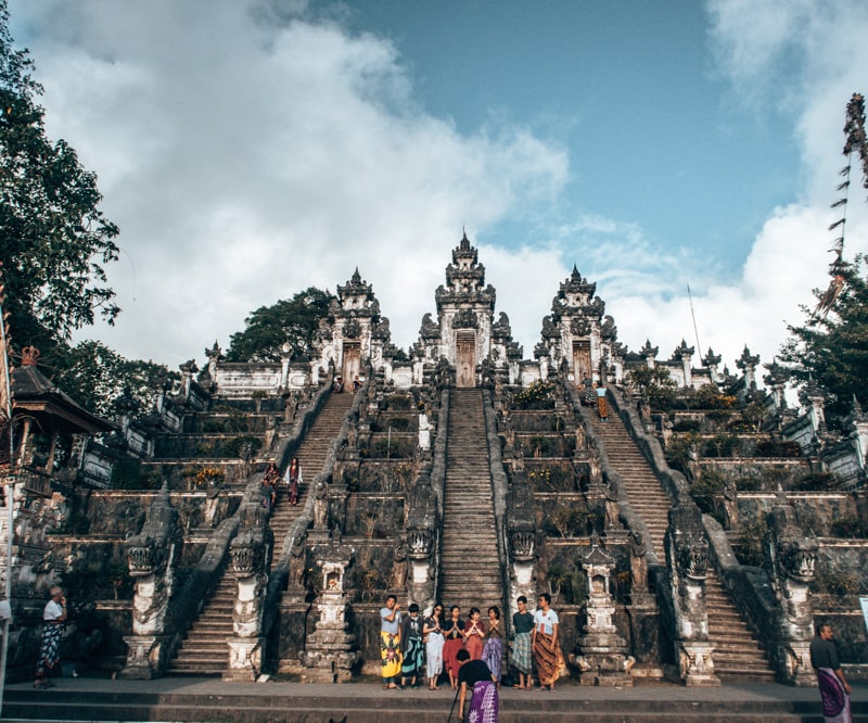 other temples in east bali