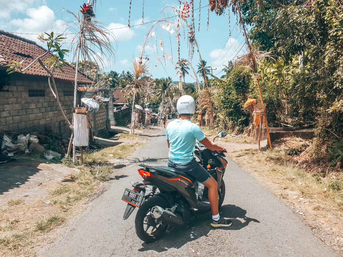mopeds in bali