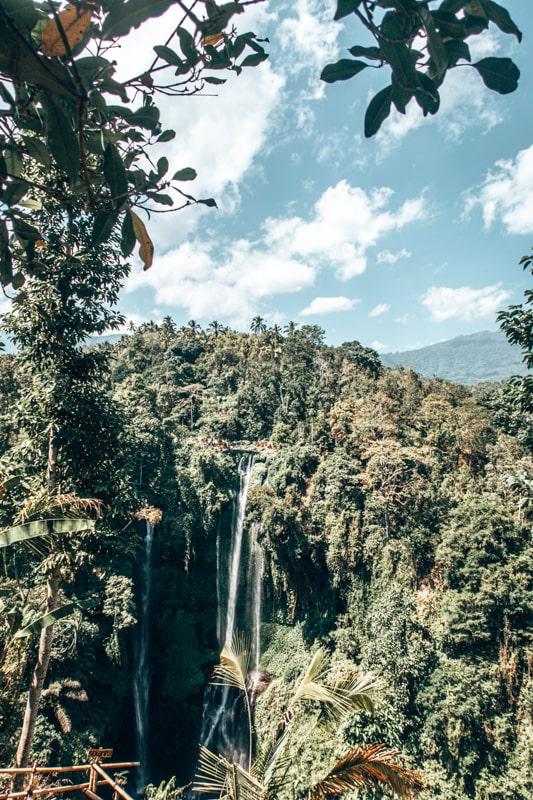 beautiful sekumpul waterfall