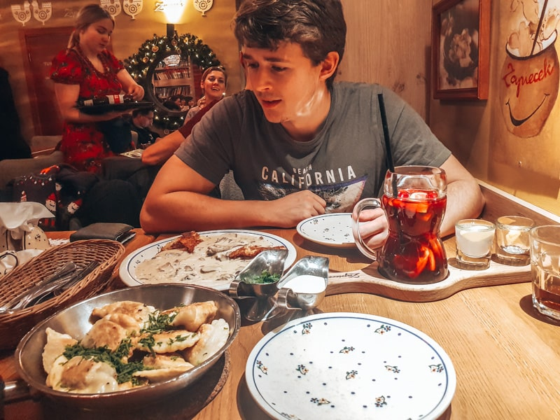 food in warsaw