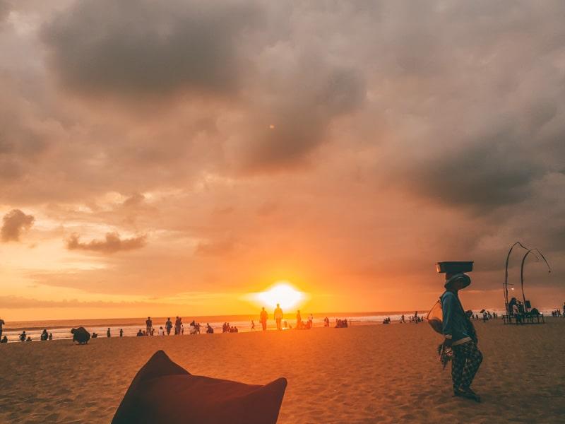 seminyak sunsets