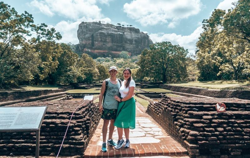 dressed for sigiriya rock, sri lanka