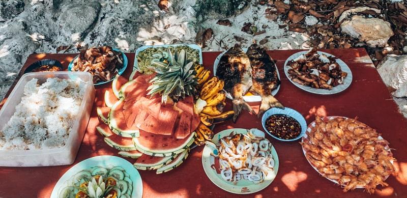 FOOD IN EL NIDO