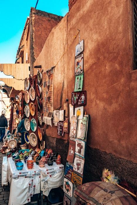 markets in marrakech