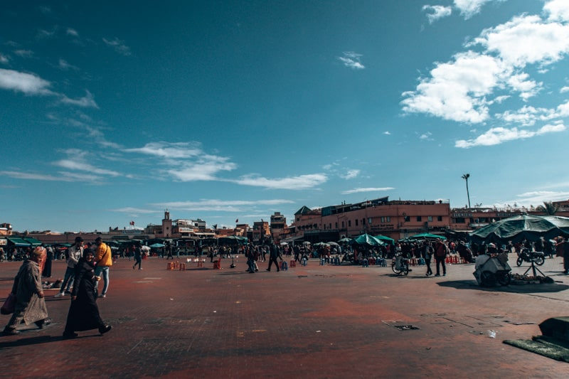 famous square in marrakech