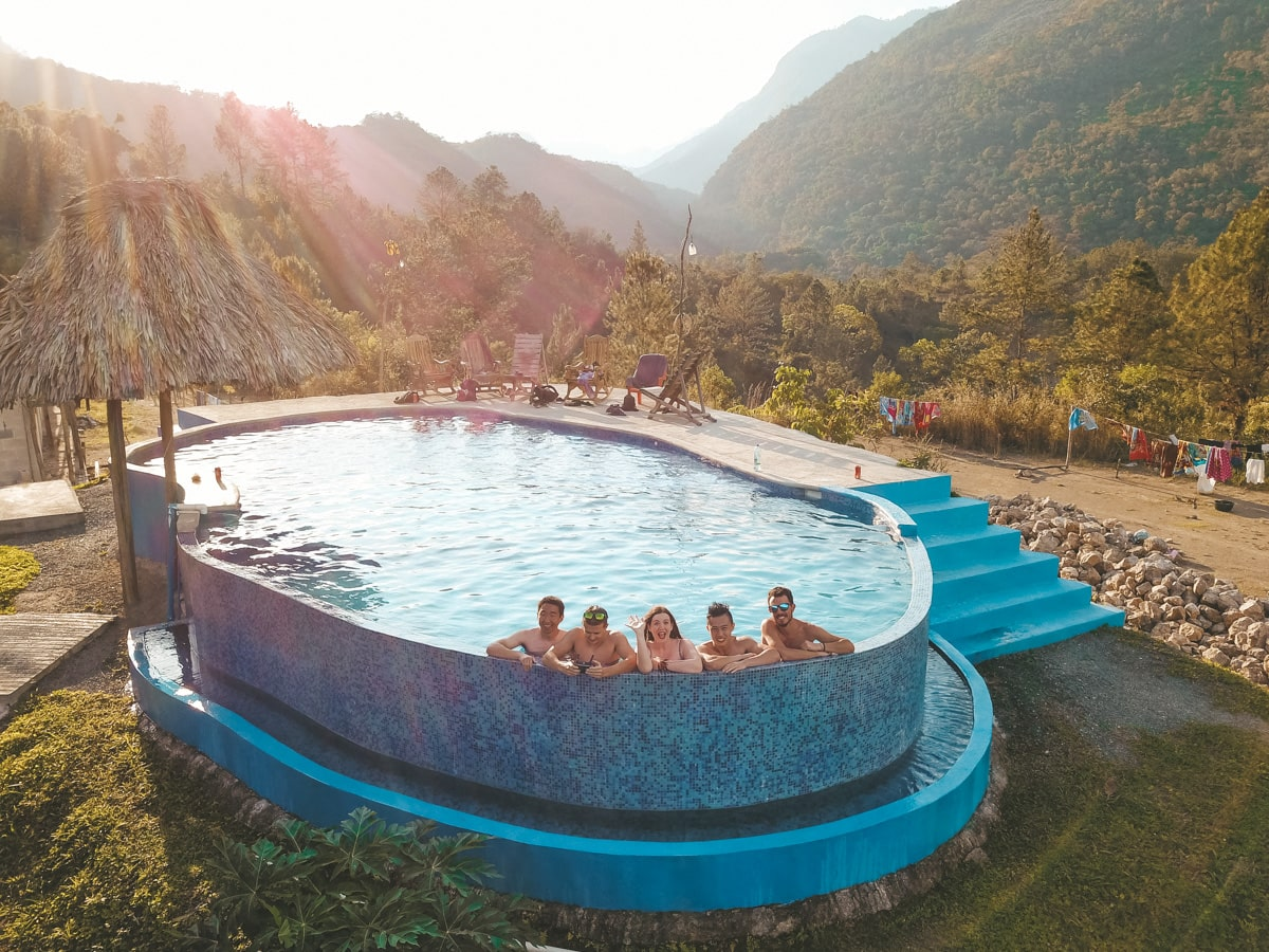 accommodation in Lanquin near Semuc Champey