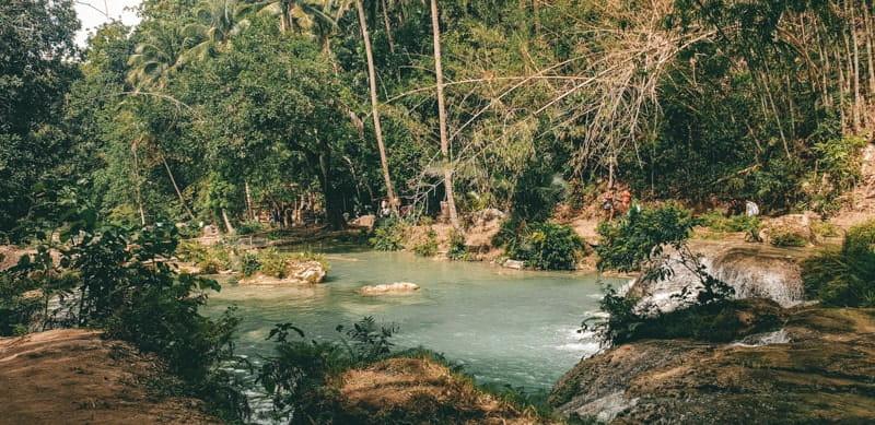 Cambugahay Falls  different levels