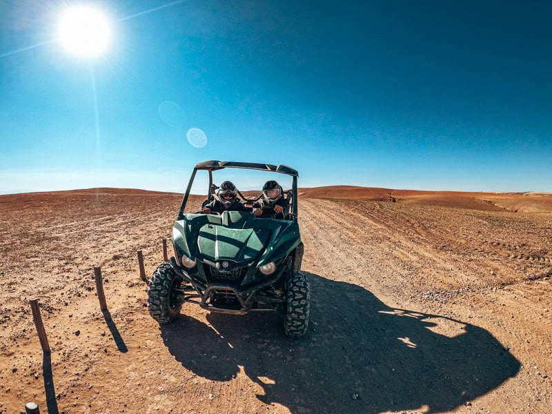 dunes and desert buggy tour