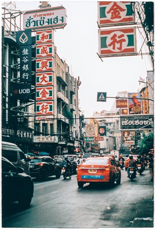 traffic in thailand