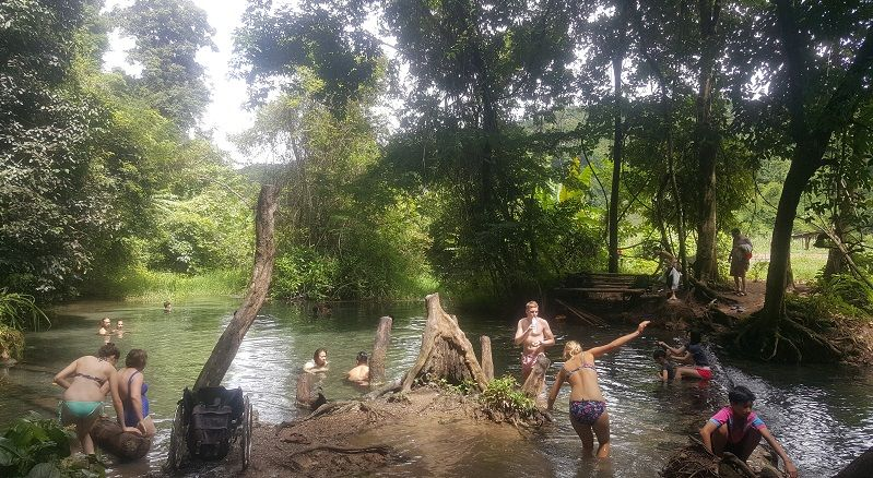 Sai Ngam hot springs in Pai