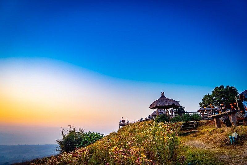 mountain views in Pai