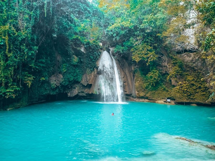 beautiful waterfalls in cebu