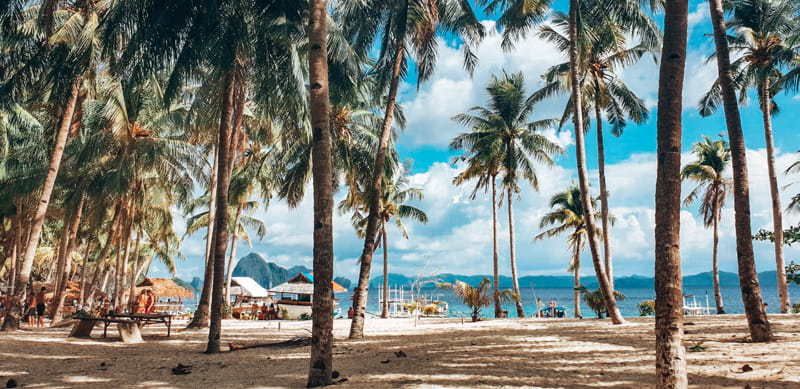seven commandos beach el nido tour a