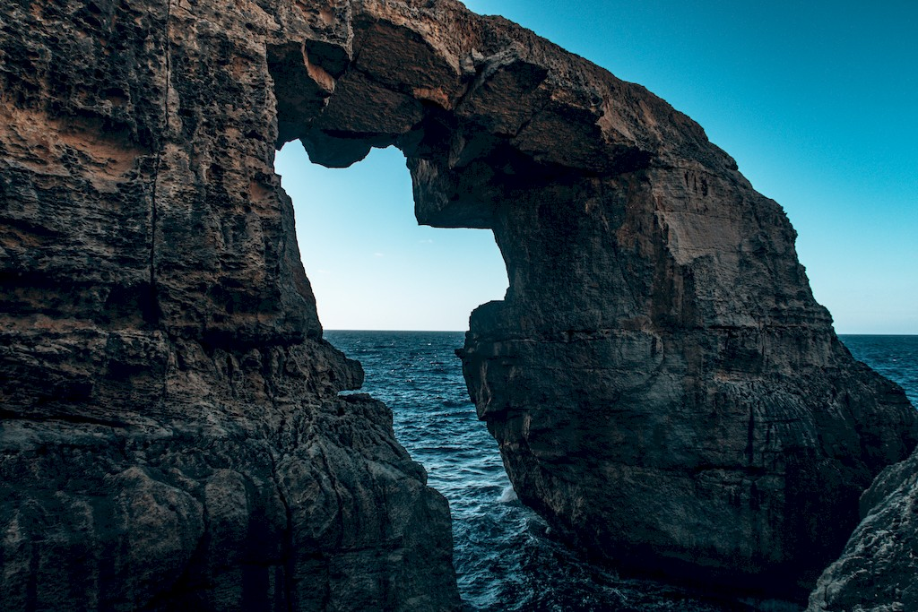 Wied il-Mielah Sea Arch