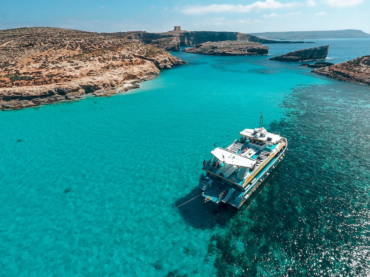 Blue Lagoon in Comino Malta