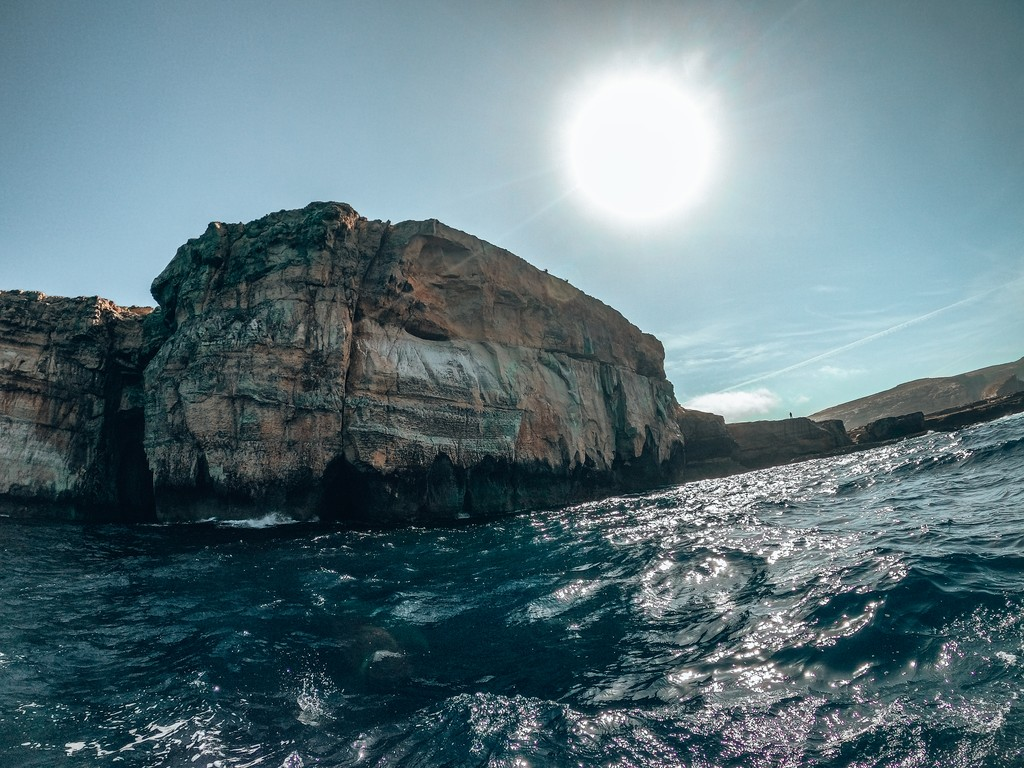 boat tour at azure window