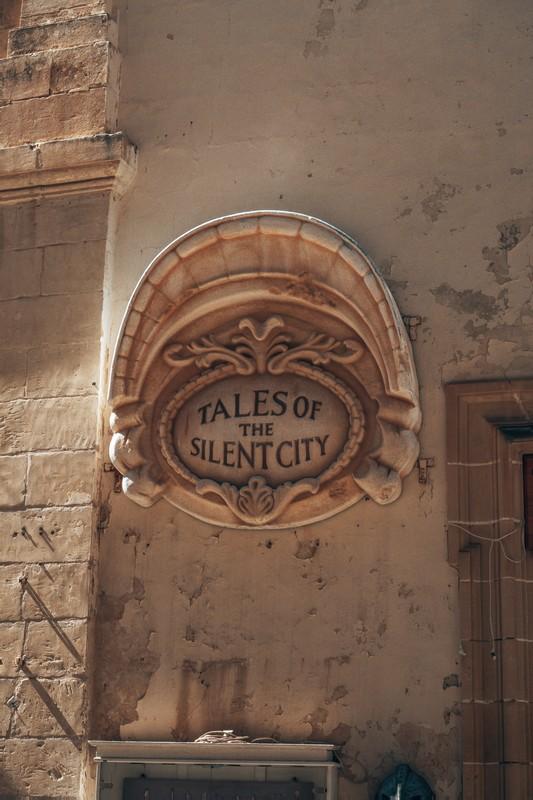 silent city of mdina malta