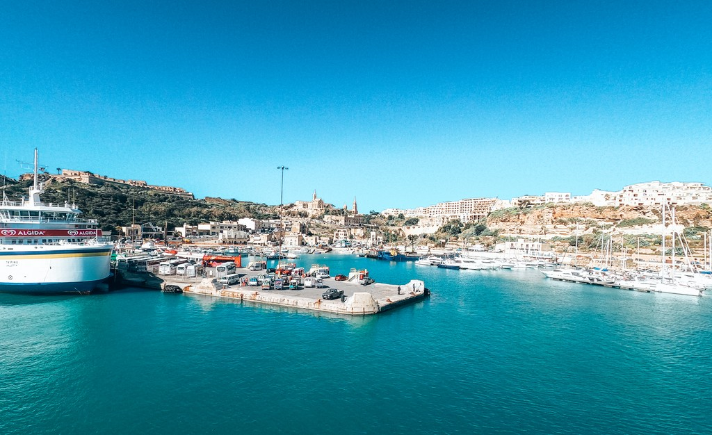 ferry from Malta to Gozo