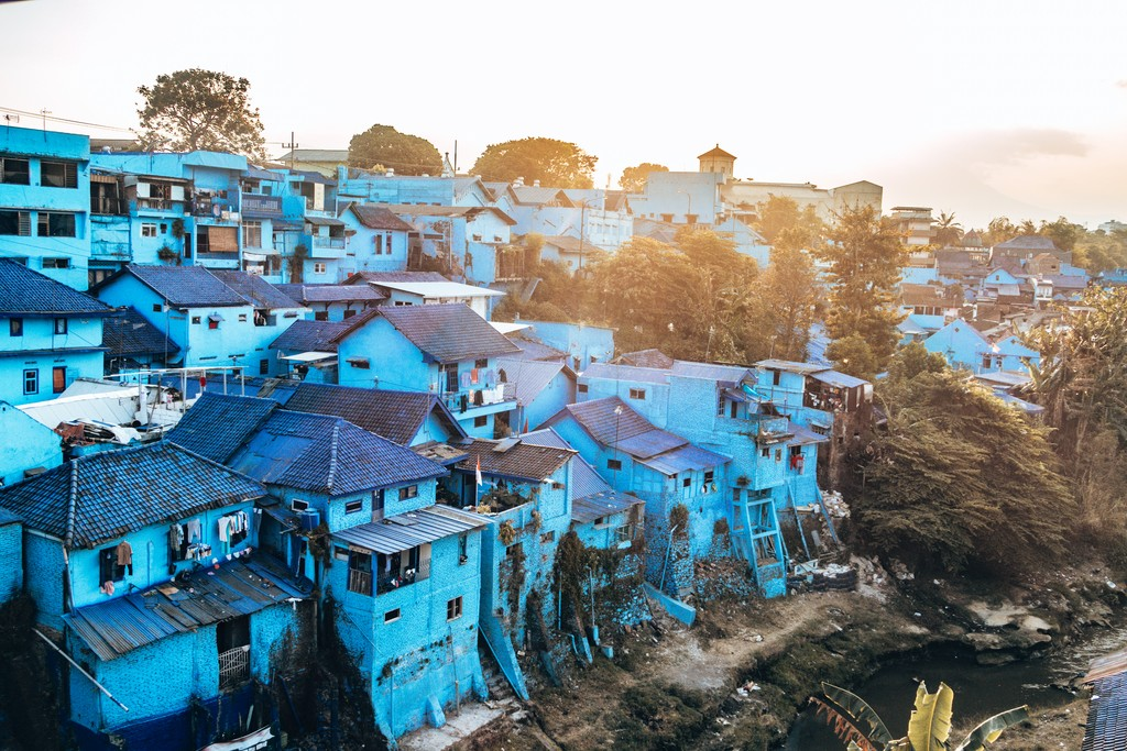 blue village jodipan