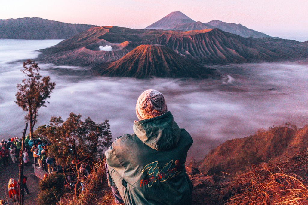 views of mount bromo