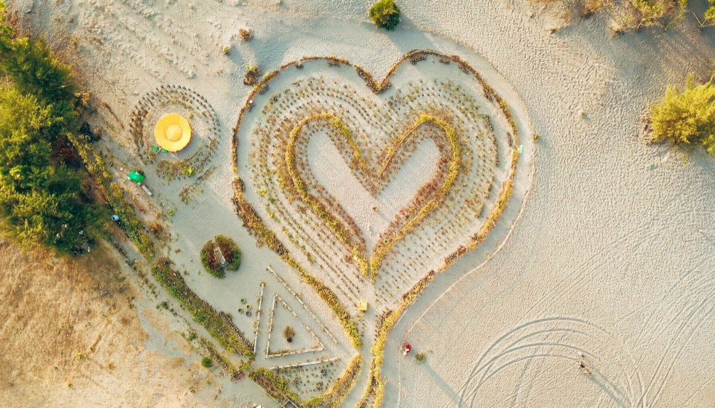 love heart of Yogyakarta