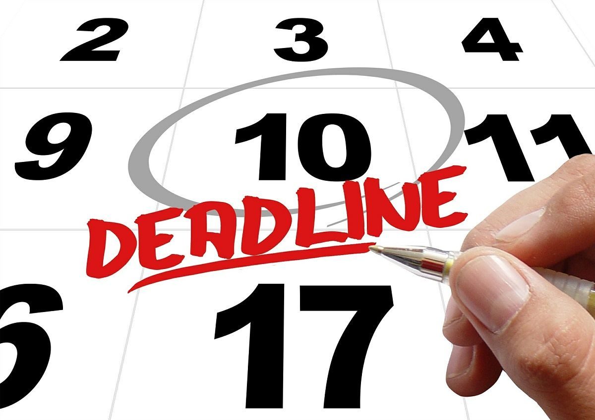 deadline set