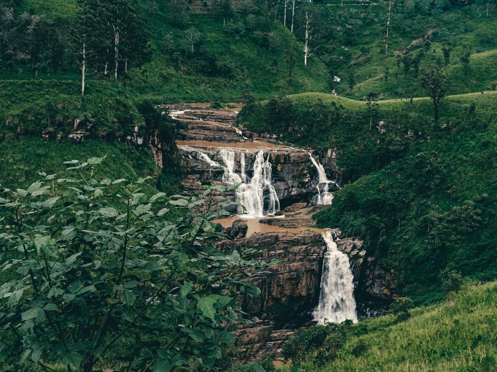 st clairs falls in sri lanka