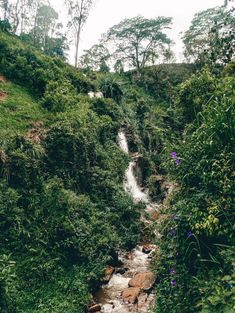 waterfalls in nuwara elyia