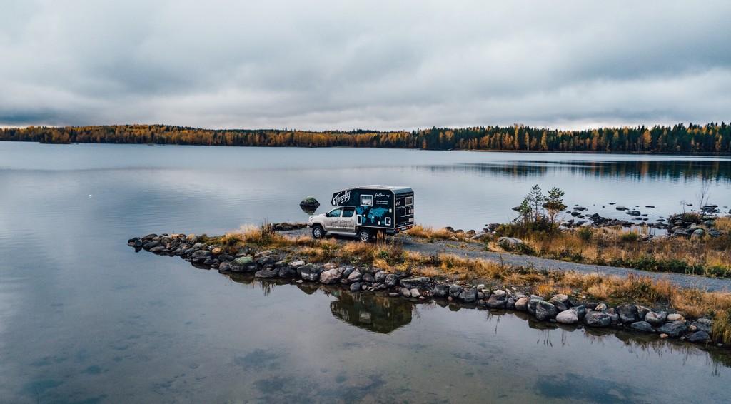 road trip finnish lakeland