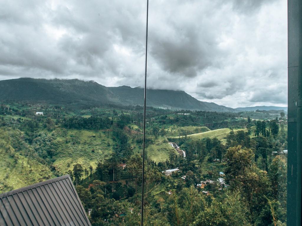 lunch views at the waterfalls villa