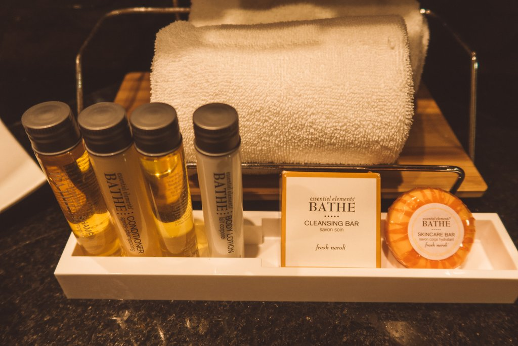 hotel complimentary products