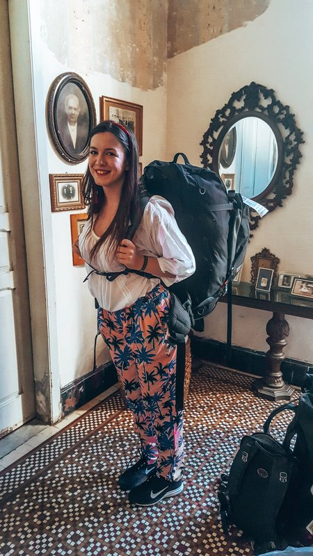 choosing a backpack for traveling