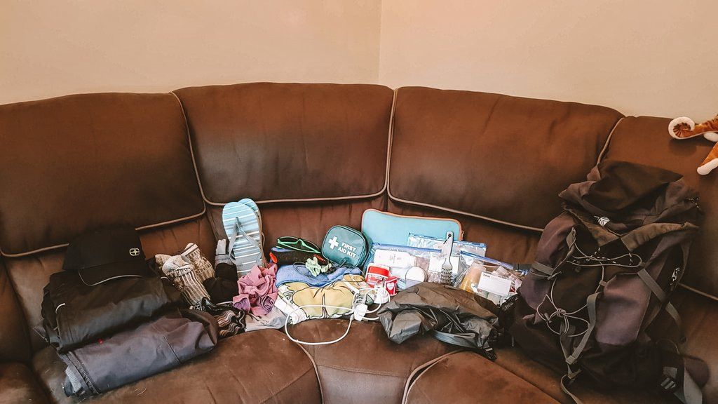 complete travel packing list